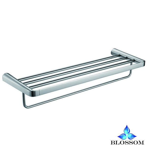 BLOSSOM BA02 109 01 WALL MOUNTED TOWEL RACK IN CHROME