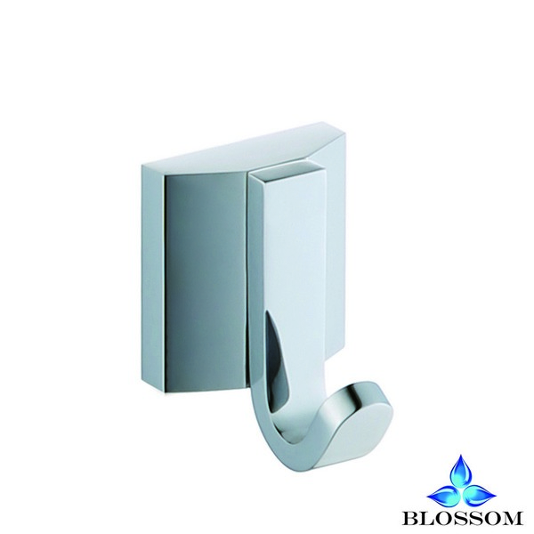 Blossom BA02 201 01 Wall Mounted Robe Hook in Chrome