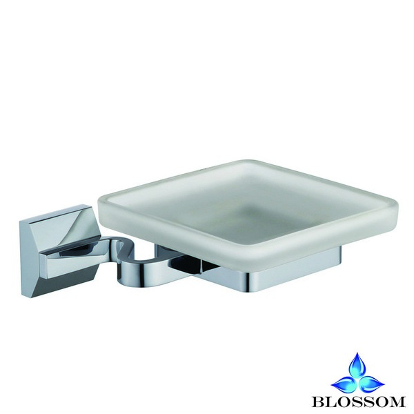 BLOSSOM BA02 202 01 WALL MOUNTED SOAP DISH IN CHROME