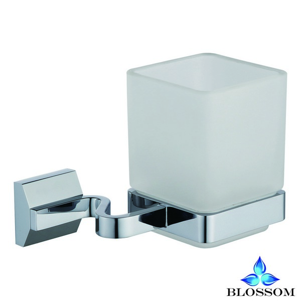 BLOSSOM BA02 203 01 WALL MOUNTED TOOTHBRUSH HOLDER IN CHROME