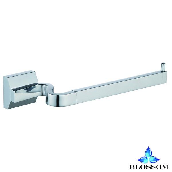 Blossom BA02 204 01 Wall Mounted Towel Bar in Chrome
