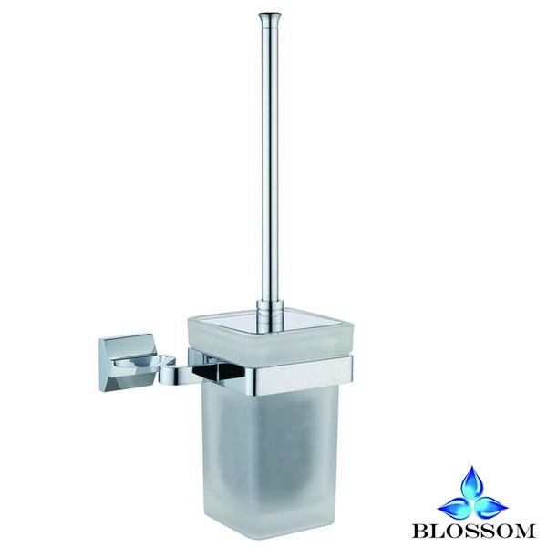 Blossom BA02 208 01 Wall Mounted Toilet Brush Holder  in Chrome
