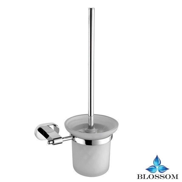 Blossom BA02 308 01 Wall Mounted Toilet Brush Holder  in Chrome