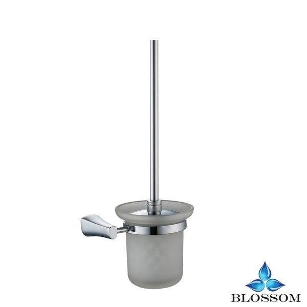 Blossom BA02 408 01 Wall Mounted Toilet Brush Holder  in Chrome