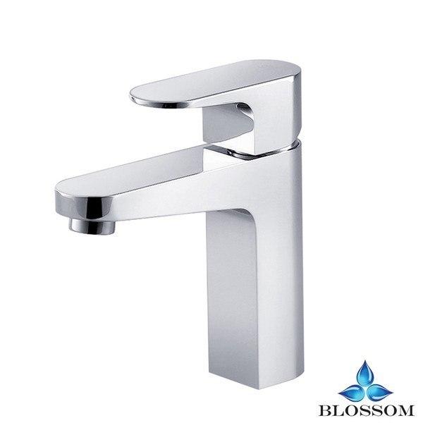 Eviva EVFT1162CH Lotus Single Handle Bathroom Sink Faucet Chrome Combination