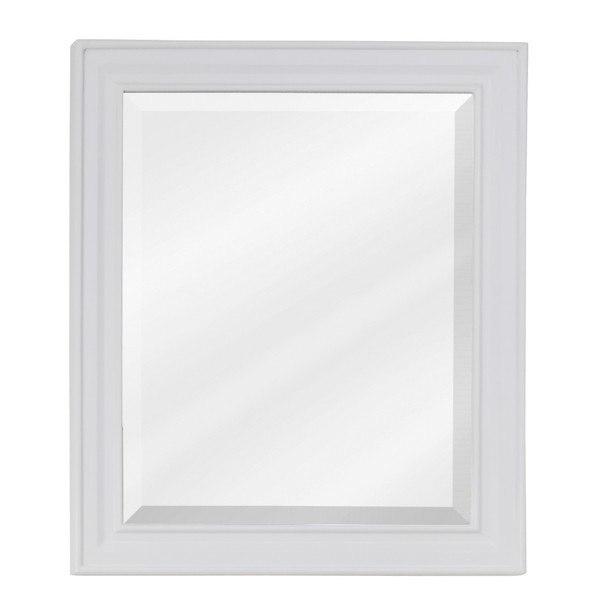 Hardware Resources MIR094 Douglas Bath Elements Mirror 20 x 1 x 24 Inch in White