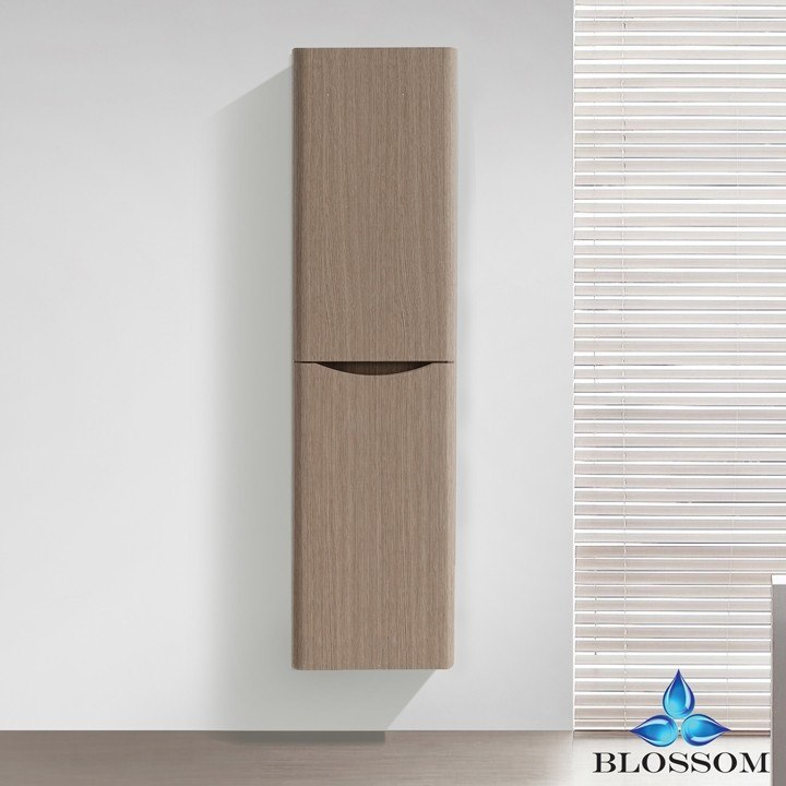 BLOSSOM S8007 16 09 MADRID 16 INCH SIDE CABINET IN LIGHT PINE