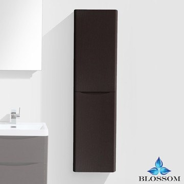BLOSSOM S8012 16 10 ATHENS 16 INCH SIDE CABINET IN CHESTNUT