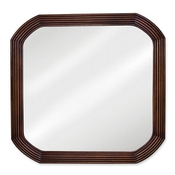 Hardware Resources MIR025 Tesla Bath Elemetns Mirror 26 x 1-3/4 x 26 Inch