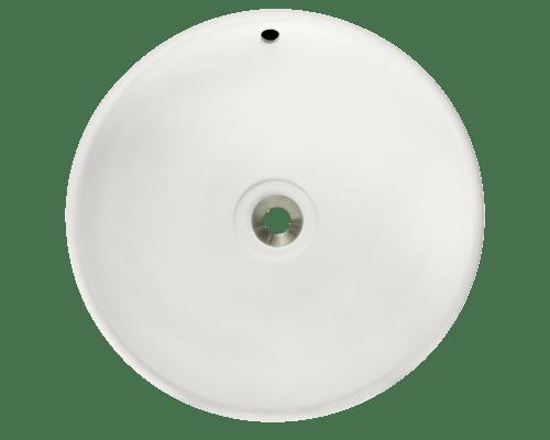 POLARIS P043VB 19-5/8 INCH PORCELAIN VESSEL SINK IN BISQUE FINISH
