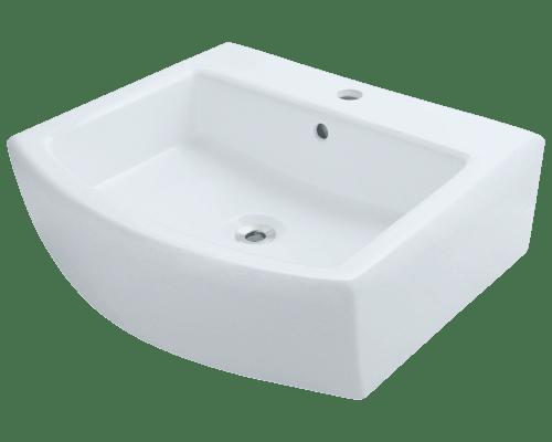 Polaris P003V 22 Inch Porcelain Vessel Sink