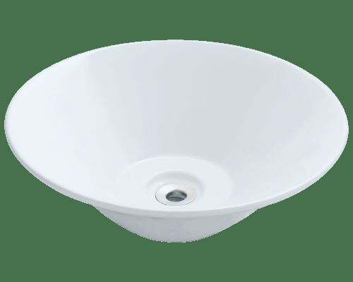 Polaris P022V 16-1/2 Inch Porcelain Vessel Sink