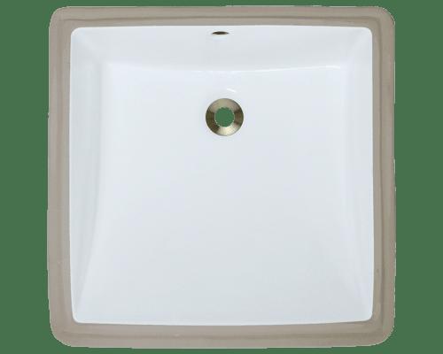 Polaris P0322U 17 Inch Rectangular Porcelain Sink