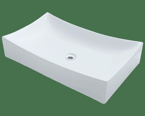 Polaris P033V 25-1/2 Inch Porcelain Vessel Sink