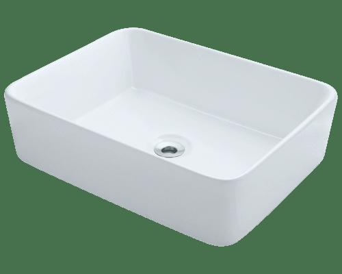Polaris P041V 18-1/8 Inch Porcelain Vessel Sink