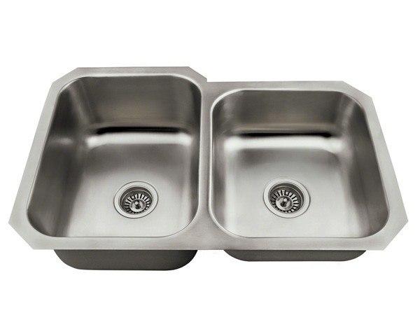 Polaris P3501USL-ENS 18 Gauge 31-3/4 Inch Kitchen Ensemple in Brushed Satin