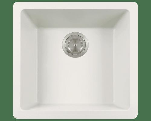 Polaris P508 17-3/4 Inch Single Bowl AstraGranite Sink