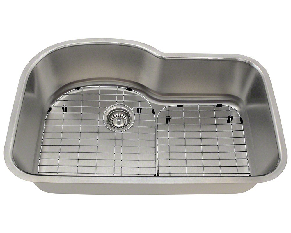 Polaris P643-16-ENS 16 Gauge 31.38 Inch Kitchen Ensemple in Brushed Satin