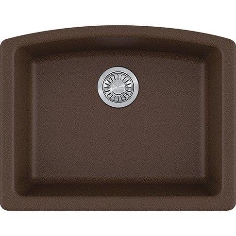 franke elg11022moc ellipse 25 inch undermount single bowl granite kitchen sink in mocha franke elg11022moc ellipse 25 inch undermount single bowl granite      rh   kbauthority com