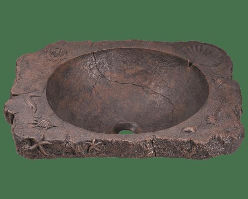 Polaris P069 Bronze Drop-In Sink 23 Inch Antique Bronze