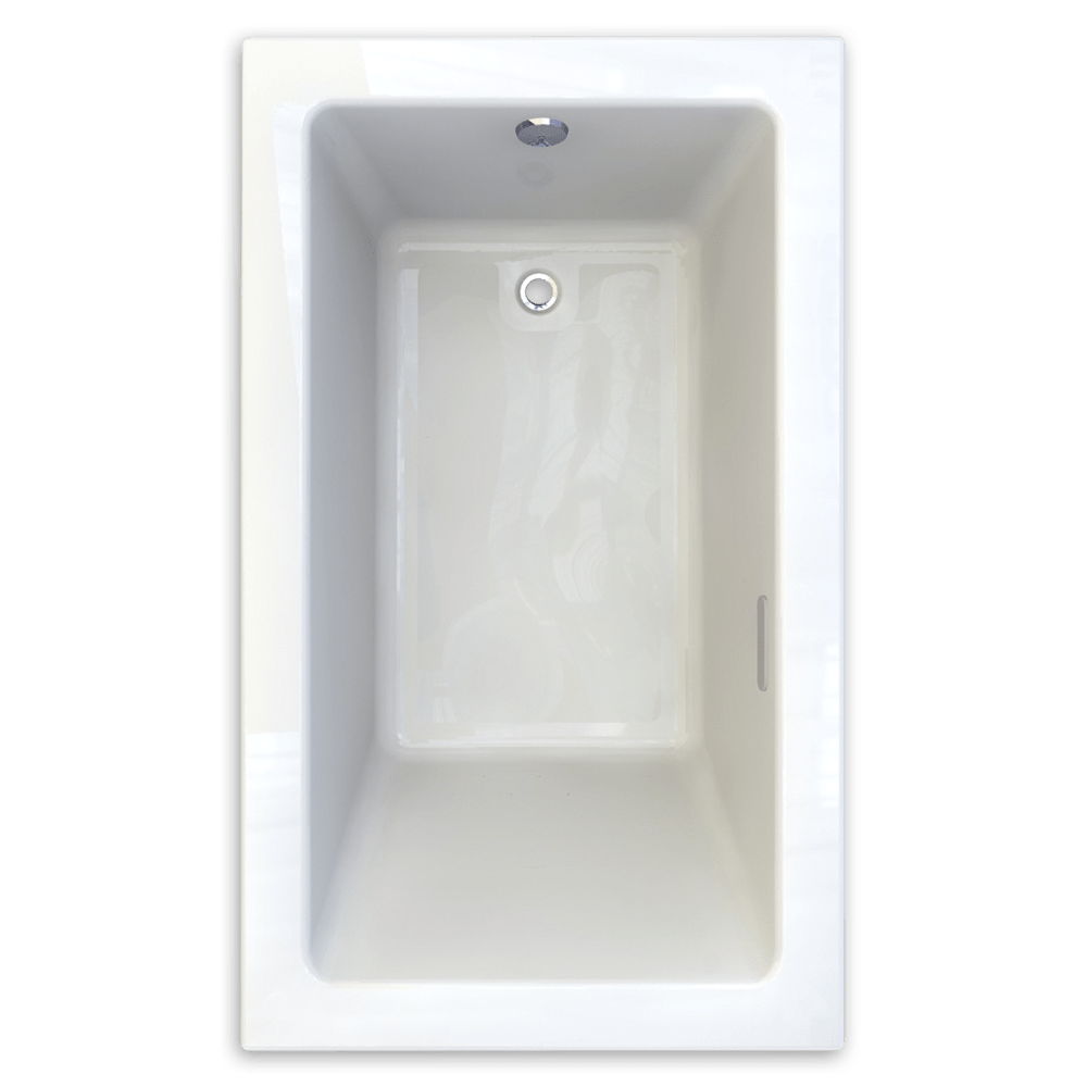AMERICAN STANDARD 2934.002-D0 STUDIO 60 X 36 INCH ACRYLIC BATHTUB, DROP-IN ISTALLATION
