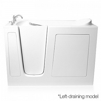 Ariel EZWT-3060-Dual Series 60 L x 30 W x 37 H Inch Walk-In Bathtub