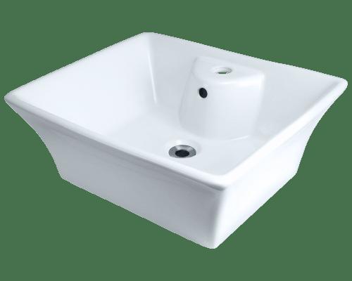 Polaris P051V 19-3/4 Inch Porcelain Vessel Sink