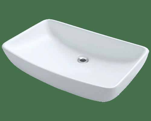 Polaris P053V 23-1/2 Inch Porcelain Vessel Sink