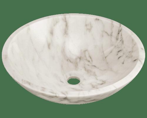 Polaris P058 16-1/2 Inch Granite Vessel Sink