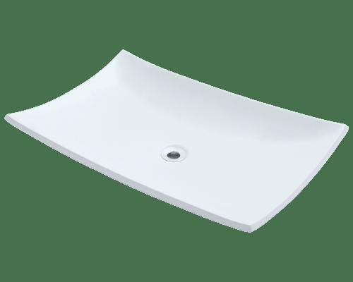Polaris P063V 23-1/2 Inch Porcelain Vessel Sink