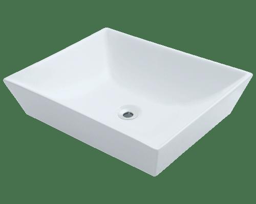 Polaris P073V 19-5/8 Inch Porcelain Vessel Sink