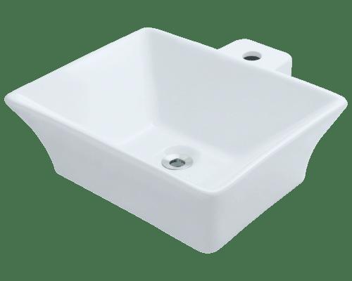 Polaris P092V 18-3/4 Inch Porcelain Vessel Sink