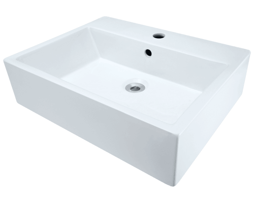 Polaris P2052V 21 Inch Porcelain Vessel Sink