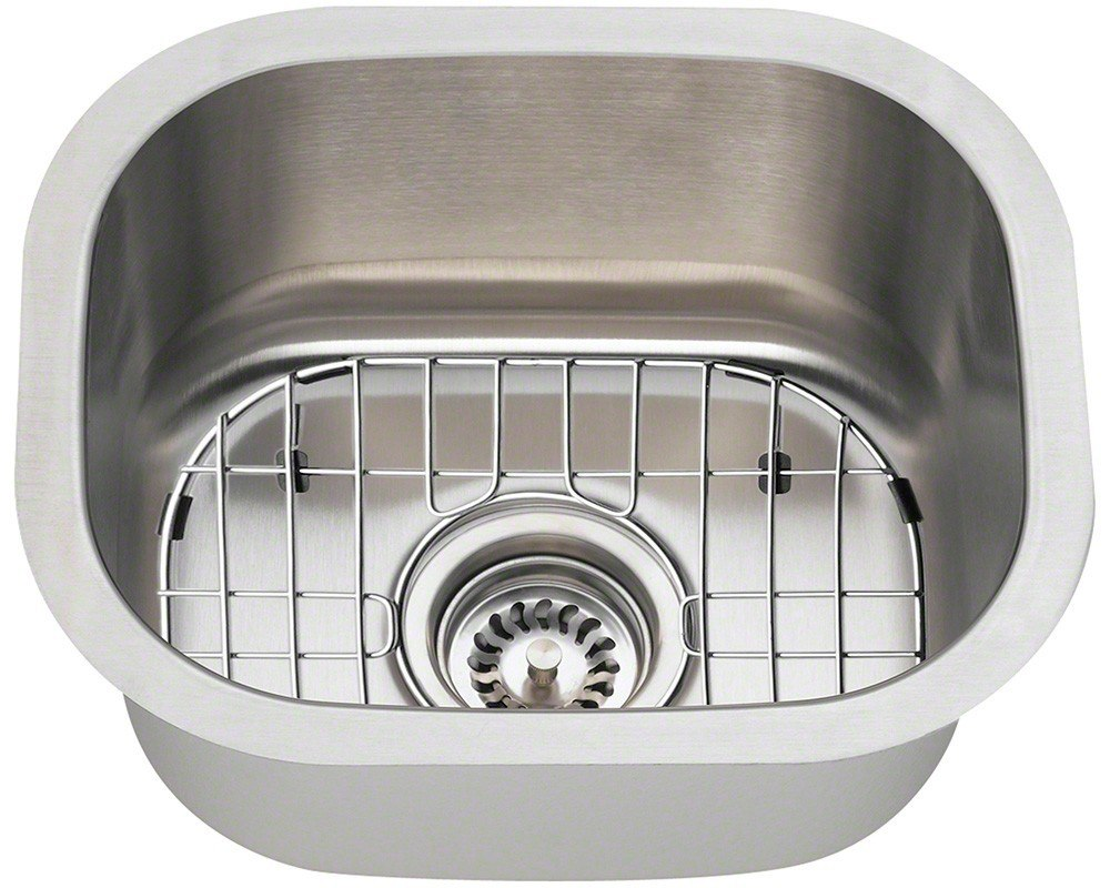 Polaris P2151 ENS 18 Gauge Kitchen Ensemble Sink