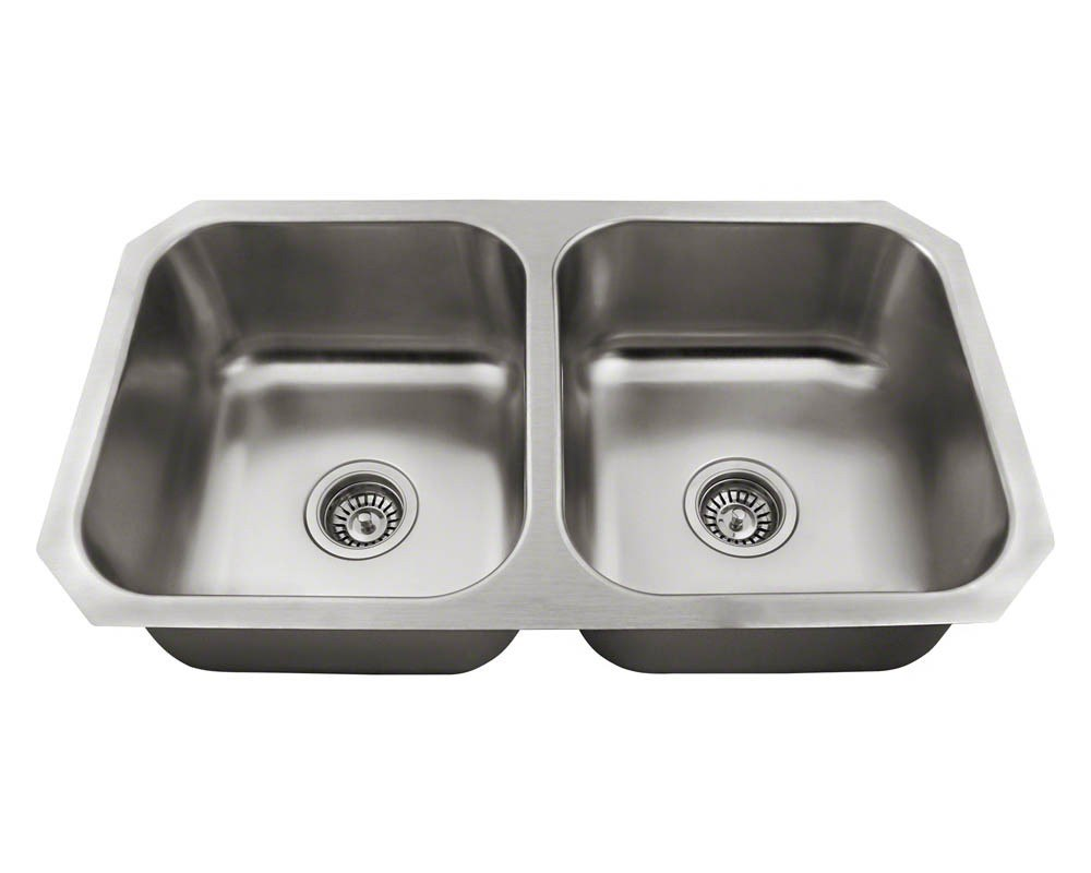 Polaris P2201US ENS Kitchen Ensemble Sink and 2
