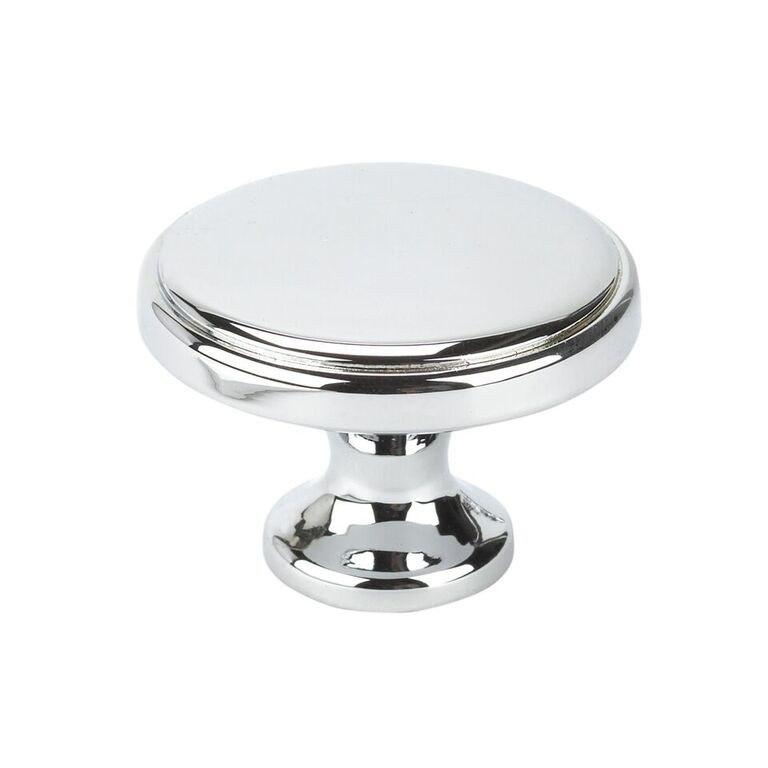 Topex 10826B40 Round Transitional Knob Bright Chrome