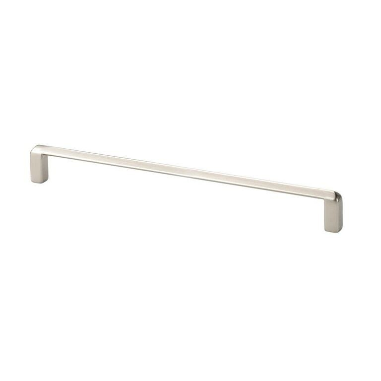 Topex 8-1020019235 Thin Modern Cabinet Pull Satin Nickel Center to Center 7.56 Inches
