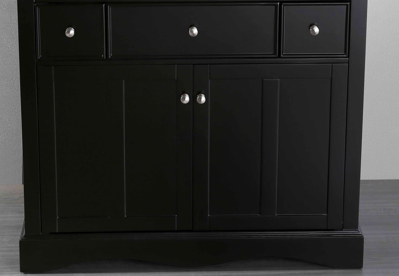 Bosconi SB-2205BMC 39 Inch Main Cabinet in Black SB ...