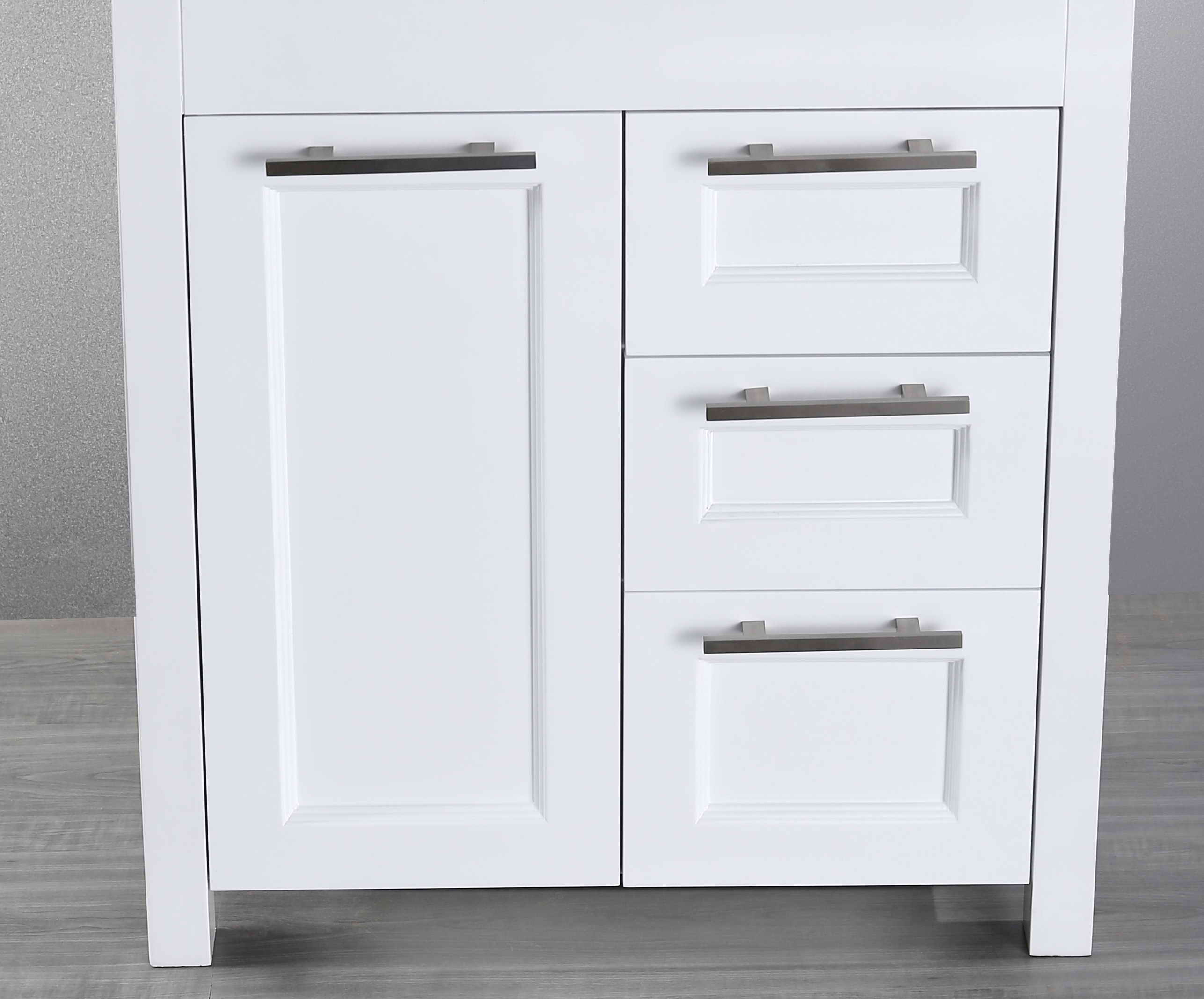Bosconi SB-267-1WHMC 29 Inch Main Cabinet in White