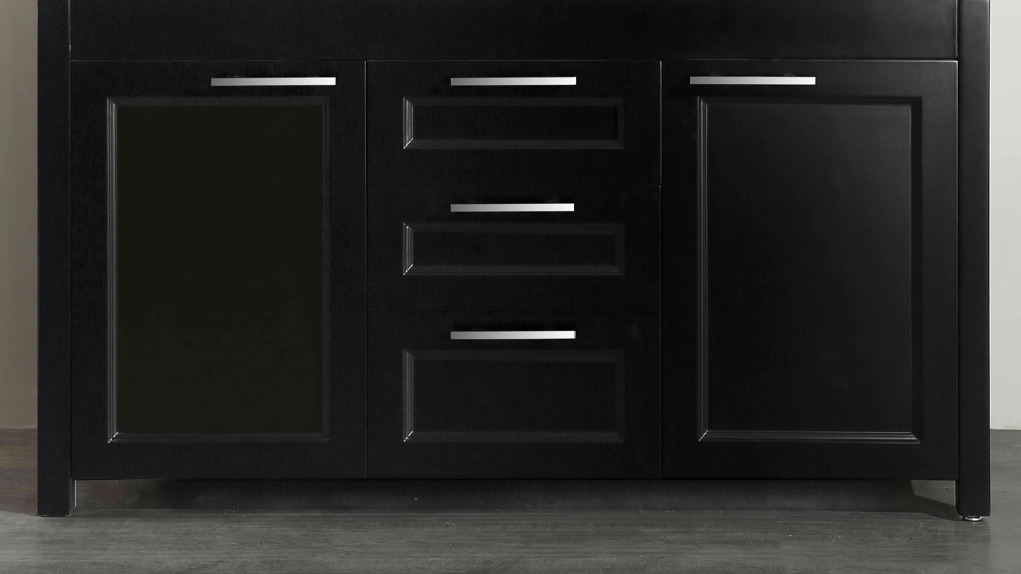 Bosconi SB-267BMC 60 Inch Main Cabinet in Black