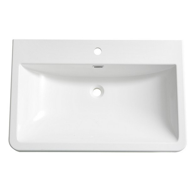FRESCA FVS8532WH MILANO 32 INCH WHITE INTEGRATED SINK WITH COUNTERTOP
