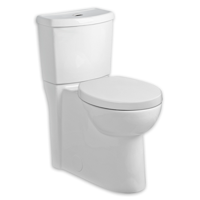 American Standard 2794.204.020 Studio Dual Flush Right Height Elongated 1.1/1.6 GPF Toilet in White