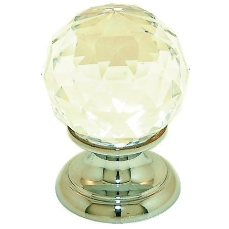 Santec 6091KK Hardware Crystal Ball - 30 Mm - Cabinet Knob