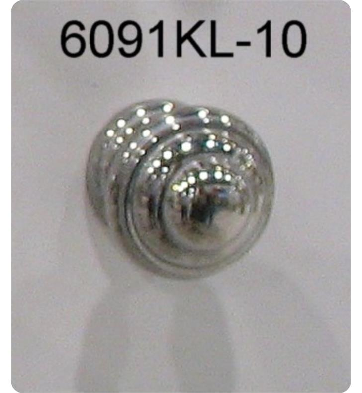 Santec 6091KL Hardware Lear Style Cabinet Knob
