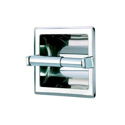 Geesa 120 Standard Hotel Stainless Steel Recessed Toilet Roll Holder