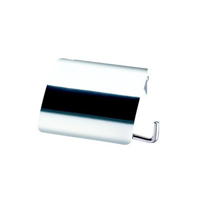 Geesa 145 Standard Hotel Stainless Steel Toilet Roll Holder with Cover