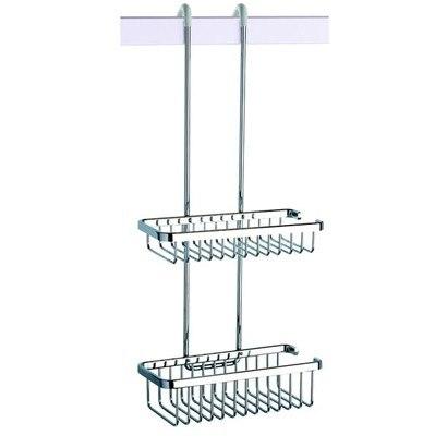 Geesa 253 Double Basket Over-The-Door Double Shower Basket