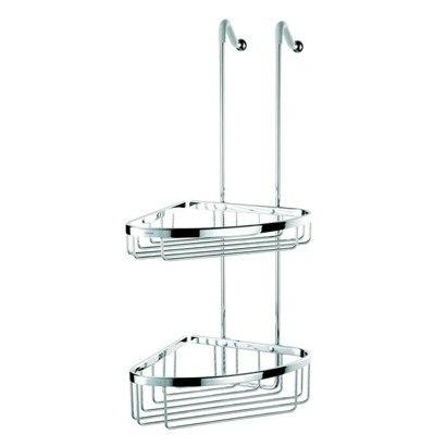 Geesa 255 Double Basket Over-The-Door Chrome Double Shower Basket
