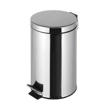 Geesa 636 Standard Hotel Free Standing Round Bathroom Waste Bin With Pedal