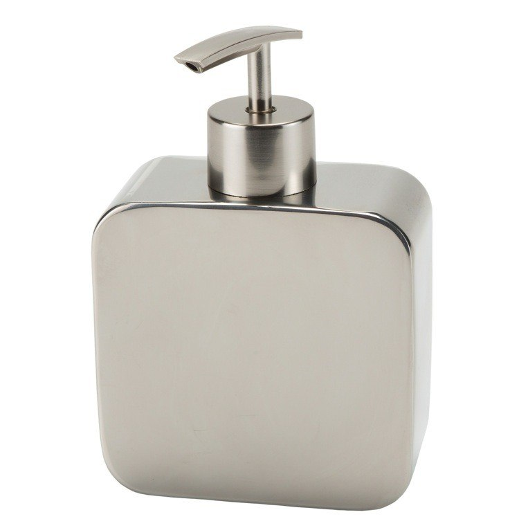 GEDY PL80-13 POLARIS CHROME FREE STANDING SOAP DISPENSER